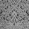 """Pintakuviointiin: Tekstuurilevy, joustavaa silikonia, 10x5cm, """"Hieno ruusukuvio"""""""