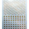 Siirtokalvo: 7 toivetta. Soveltuu mm. korun tekemiseen UV-hartsilla (Akryylihartsi)