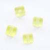 *Mallikappale-Poistoale* Helmi #232, Swarovski Crystal, säihkyvä kristalli, ametisti, kuutio, viistehiottu, 4x4mm, 4 kpl, OVH 4.10