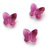 *Poistomyynti -mallikappale* Helmi, Swarovski Crystal, perhonen, fuksianpunainen, 8x7mm, 1 kpl
