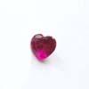 Synteettinen Rubiini, Tumma pinkki, Sydämen muotoinen, 7x7mm, 1kpl