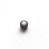 *Mallikappale-Poistoale* Synteettinen kirkas 2.5mm zirkonia+muovinen istukka (musta) 1kpl, *Lue ohjeet tuoteinfosta