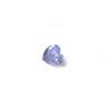 *Mallikappale-poistoale* Kuutiollinen Zirkonia, kuvassa #104, Tansaniitti (Lila), SYDÄN, 5mm, 1 kpl, huom polttoa ei testattu