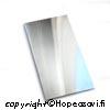 *Tarjous* Hopealevy 925 PEHME�, 10X7cm, paksuus 0.3mm