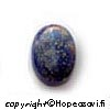 Lapis (Tumman sininen), kapussi, soikea 14x10mm, 1kpl