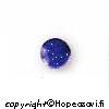 Lapis (Tumman sininen), kapussi, pyöreä, 6mm (1 kpl).