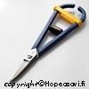 *Tarjous* Sakset metallilevyn leikkaamiseen, 0-1mm paksuille levyille, suora kärki, jousitettu, valmistettu Ranskassa, OVH 41.40