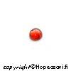Kuutiollinen Zirkonia, Garnetti, tasainen tausta, kapussi, pyöreä, 3mm, 2kpl
