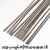 Kultasepän sahanterä, teräväli 2/0 (noin 0.8-0.6mm paksuille levyille) 12 kpl