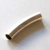 *Poistomyynti -hieman patinoitunut, muuten A-luokka* Helmi, hopea 999, putki, kaareva, 20mm, 5mm halkaisija, 1 kpl