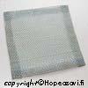 Verkko, monikäyttöinen, soveltuu kuivausverkoksi tai juotostalustaksi kolmijalan kanssa, edullinen, 15x15 cm