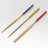 *tarjous* Viilasetti, timanttiviiloja, pituus noin 10 cm, 3 muotoa: tasainen, puolipyöreä, pyöreä