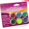 *Tarjous* Glitter-kokoelma, kirkkaat värit: Punainen, Emeraldin vihreä, Lehtivihreä, Purppura, Keltainen, Sininen, OVH 12.95