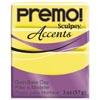 premo!  Accents -- Yellow Translucent (keltainen läpikuultava)