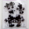 *poistomyynti -45% -Leimasin, joustava & läpinäkyvä, noin 11x8 cm, (c) Disney 'Mickey & Minnie' OVH 12,50