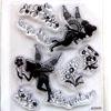 *poistomyynti -45%- Leimasin, joustava & läpinäkyvä, noin 11x8 cm, (c) Disney 'Helinä keiju -Tinkerbell' OVH 12,50