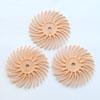Hioma-ja kiillotuslaikka kaikille metalleille, 3M -tuote, persikka -karkeus 3000, halkaisija 19mm, 3kpl (ilman vartta)