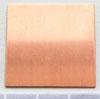 Kupari, muotopala, Neliö, 32x32mm, paksuus 0.5mm, emalointiin tai korun osaksi, 1 kpl