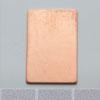 *Tarjous* Muotopala, suorakaide, 12x22mm, paksuus 0.5mm, emalointiin tai korun osaksi, 1kpl