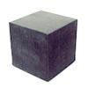Kumikuutio, alasin, veisto-ja viilausalusta, 50x50x50mm (pieni)