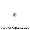 Kuutiollinen Zirkonia Valkoinen, kirkas, pyöreä, 3mm, 10 kpl
