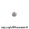 Kuutiollinen Zirkonia, valkoinen (kirkas), pyöreä, 4mm, 5 kpl