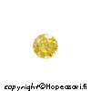 Kuutiollinen Zirkonia, Keltainen, pyöreä 3mm, 10 kpl