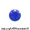Spinelli, Sininen (Blue), pyöreä, 4mm, 4 kpl