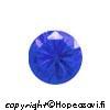 Spinelli, Sininen (Blue), Pyöreä, 5mm, 2kpl