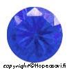 Spinelli, Sininen (Blue), Pyöreä, 8mm, 1 kpl