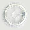 *Erityistuote* Silkkimäinen hopea 999 -lanka, paksuus 0.2mm, 5m esim. virkkaukseen tai kumihimopudontaan