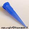 *Art Clay Silver -hopeasavi, pursottimen suutin, ohut, noin 0.5mm, sininen