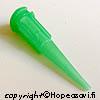 *Art Clay Silver -hopeasavi, pursottimen suutin, keskikoko, noin 0,8mm, vihreä