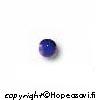 Lapis (Tumman sininen), kapussi, pyöreä, 4mm, 1 kpl