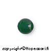 Jade, helmi, puoliväliinporattu, 6mm, 1kpl