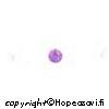Kuutiollinen Zirkonia, Ametisti, pyöreä 3mm, 10 kpl