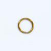 Välirengas, messinki (tumma/pronssisävy), pyöreä 8mm, langan paksuus noin 0.8mm, 100 kpl
