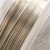 Artistic Wire, hopeoitu laadukas kuparilanka, ei-tummuva, pehmeä, 0.5mm, 13.7m kiekko