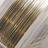 *ALE -20%* Artistic Wire, hopeoitu laadukas kuparilanka, ei-tummuva, pehmeä, 0.3mm, 36.50m kiekko (extra pitkä)