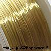 Messinkilanka, ns. korupronssia, kullan värinen, pehmeä, 0.3mm, 4m