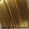 Messinkilanka, ns. korupronssia, kullan värinen, pehmeä, 0.5mm, 4m