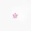 *Mallikappale-poistoale* Kuutiollinen Zirkonia, kuvassa #186, Pinkki, TÄHTI, 4mm, 1 kpl