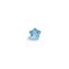 *Mallierä* Kuutiollinen Zirkonia, kuvassa #256, Akvamariini (Vaalea sininen), KUKKA, 4mm, 1 kpl, huom ei kestä polttoa