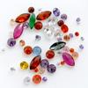 *Poistomyynti* Kuutiollinen Zirkonia, sekoitus eri värejä, kokoja ja muotoja, 50kpl (huom. kuva on esimerkki)