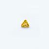 *Mallikappale-poistoale* Kuutiollinen zirkonia, kuvassa #714, keltainen, kolmio, 4x4mm, 1 kpl
