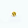 *Mallikappale-poistoale* Kuutiollinen zirkonia, kuvassa #710, keltainen, kukka, 4x4mm, 1 kpl