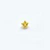*Mallikappale-poistoale* Kuutiollinen zirkonia, kuvassa #711, keltainen, tähti, 4x4mm, 1 kpl