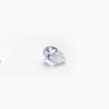 *Mallikappale-poistoale* Kuutiollinen zirkonia, kuvassa #745, kirkas, pisaramuoto, tasainen tausta, 6x4mm, 1 kpl