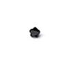 *Mallikappale-poistoale* Kuutiollinen Zirkonia, kuvassa #991, Musta, KUKKA, 4mm, 1 kpl, huom ei kestä polttoa