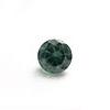 Synteettinen Harmaavihreä kivi, pyöreä, 8mm, 1 kpl